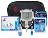 The Contour Next Diabetic Testing Kit