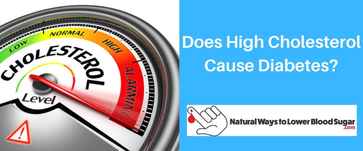 Does High Cholesterol Cause Diabetes