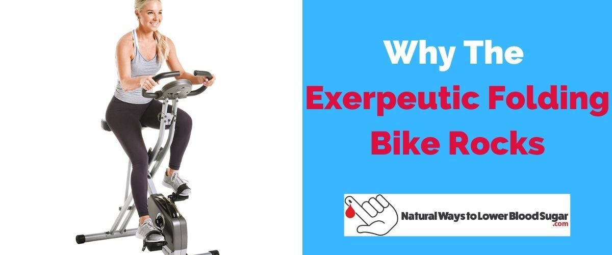 Exerpeutic Folding Bike Rocks