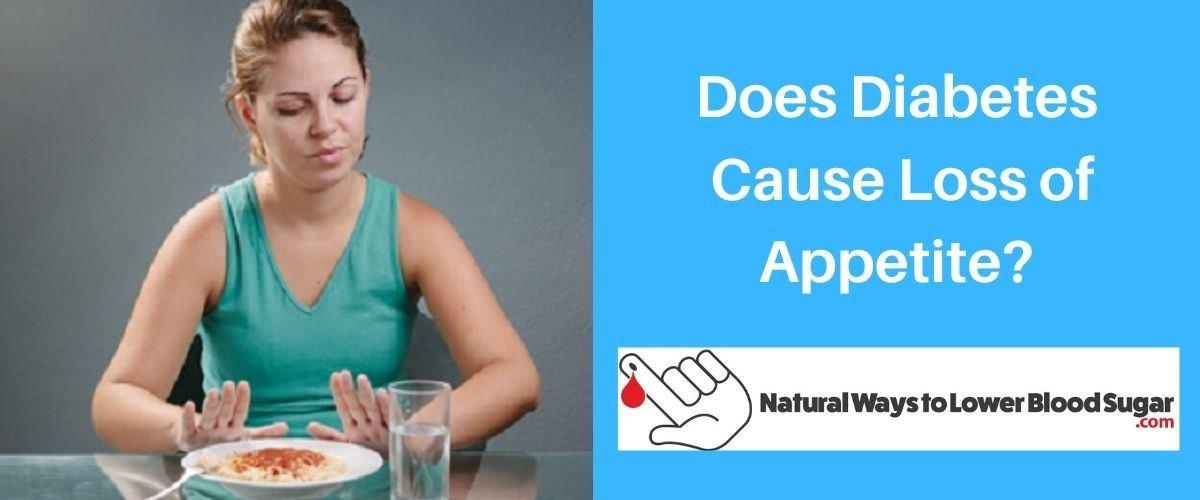 Does Diabetes Cause Loss of Appetite