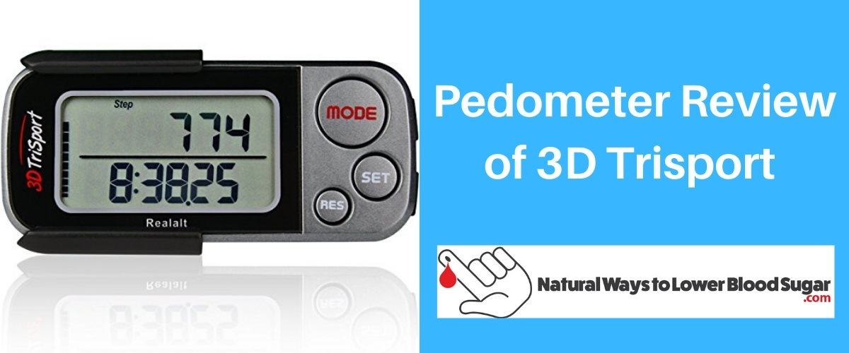 Pedometer Review of 3D Trisport