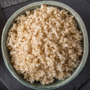 Brown rice for type 2 diabetes