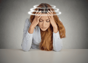 Woman With Dizziness