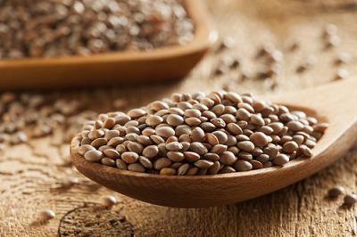 Bowl of lentils