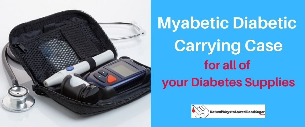 Myabetic Diabetic Supply Carrying Case