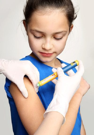Child With Insulin