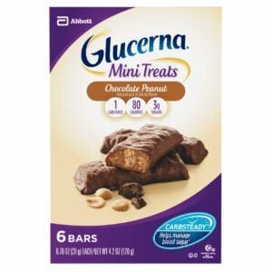 Glucerna Mini Treats Chocolate Peanut