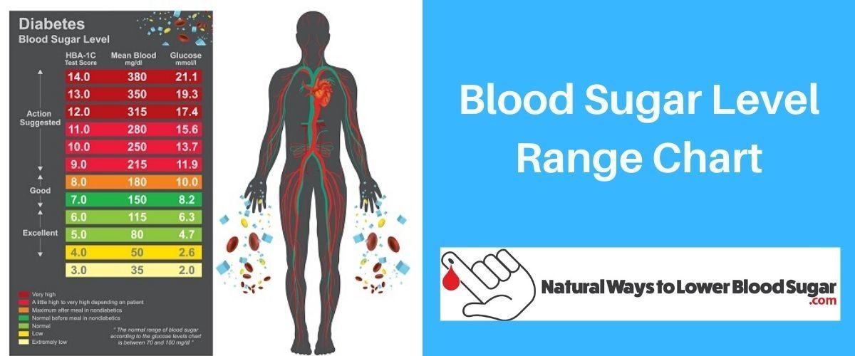 Blood Sugar Level Range Chart
