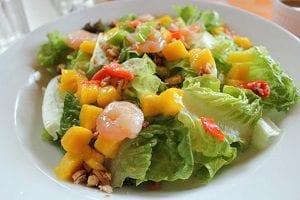 Shrimp Salad With Nectarine