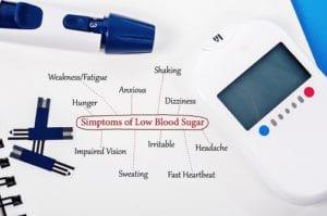 Symptoms of Low Blood Sugar.