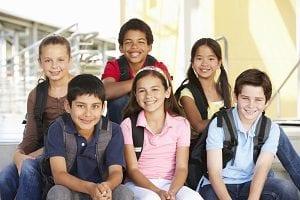 Group of Ethnic Children