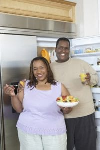 Obese African Americans