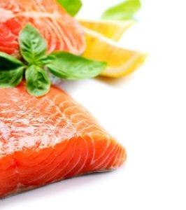 Salmon With Lemon Slices