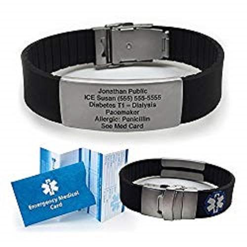 Diabetic Medical Bracelet