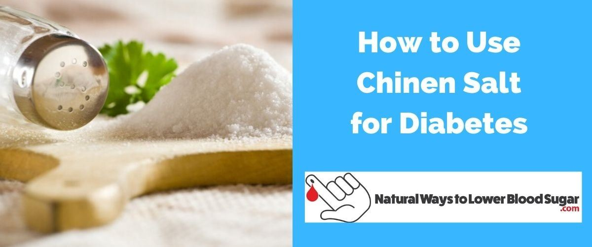 How To Use Chinen Salt For Diabetes Here Are The Benefits The rest is made up of trace minerals, such as potassium, magnesium, and calcium, which give the salt its tint. how to use chinen salt for diabetes