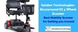 Golden Technologies- Buzzaround EX 4 Wheel Scooter