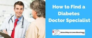 Find a Diabetes Doctor Specialist