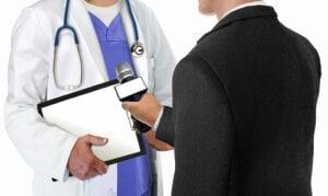 Interviewing Doctor
