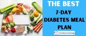 The Best 7 Day Diabetes Meal Plan Featured Image